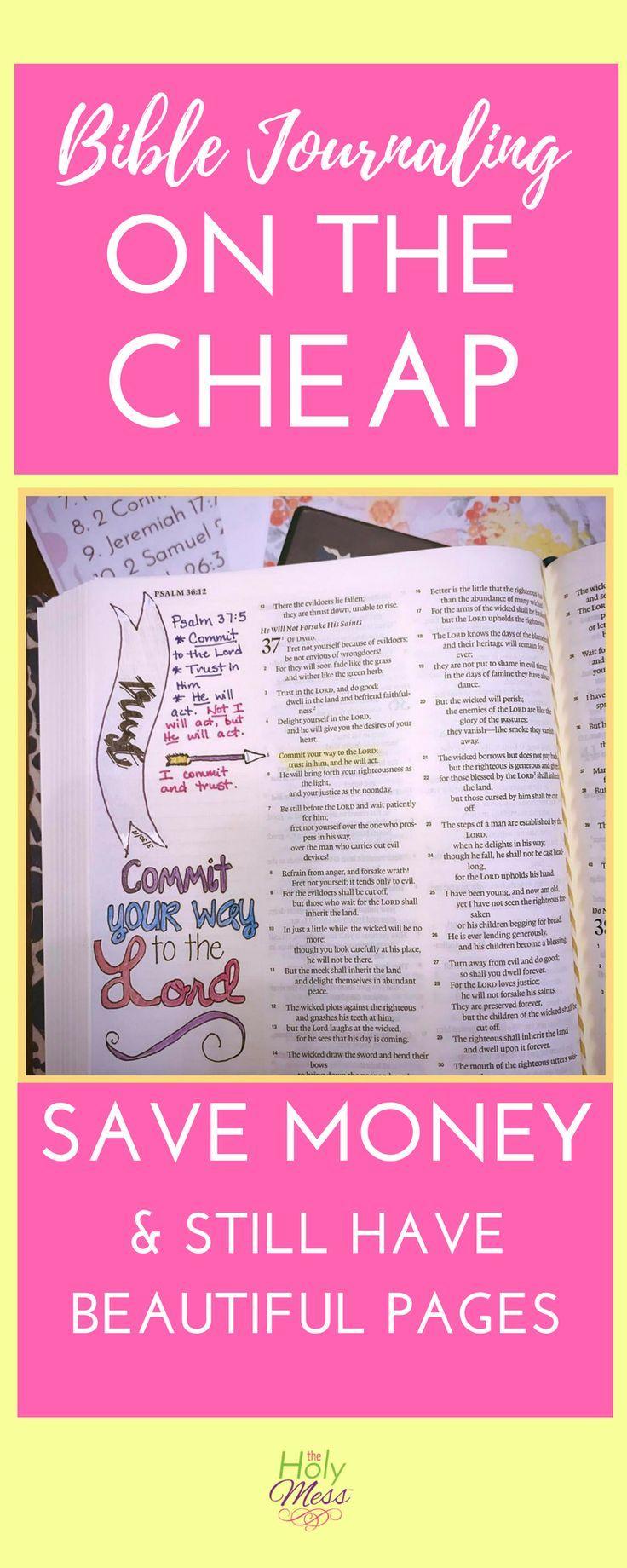 Bible Journaling|Journal|Prayer|DIY|Money Saving|Tips|Life Hacks|Coupons