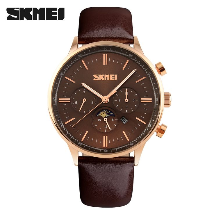 $19.98 (Buy here: https://alitems.com/g/1e8d114494ebda23ff8b16525dc3e8/?i=5&ulp=https%3A%2F%2Fwww.aliexpress.com%2Fitem%2FSkmei-Men-Casual-Watch-Genuine-Leather-Luxury-Men-Watches-Quartz-Wristwatch-Moon-Phase-24-hours-Function%2F32530026679.html ) Skmei Men Casual Watch Genuine Leather Luxury Men Watches Quartz Wristwatch Moon Phase 24 hours Function Sport Watch relogio for just $19.98