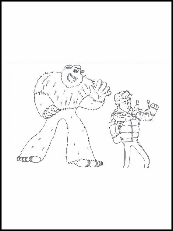Smallfoot 5 Printable coloring pages for kids   Coloring ...