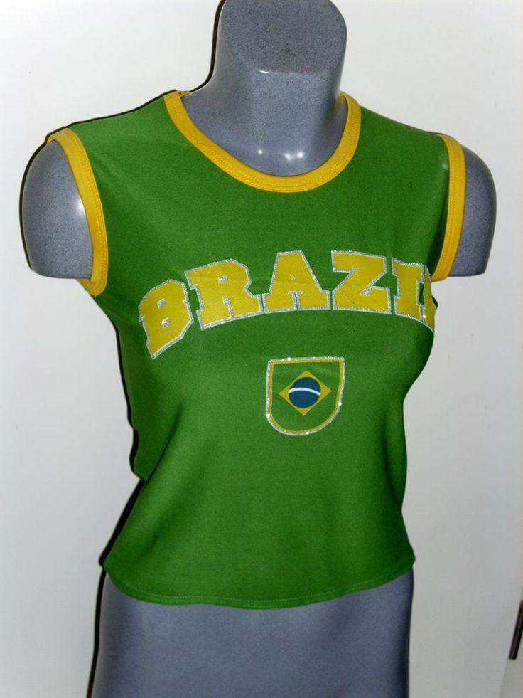 Damen Länder-Shirt Länder-Top Brazil Jamaika Greece California