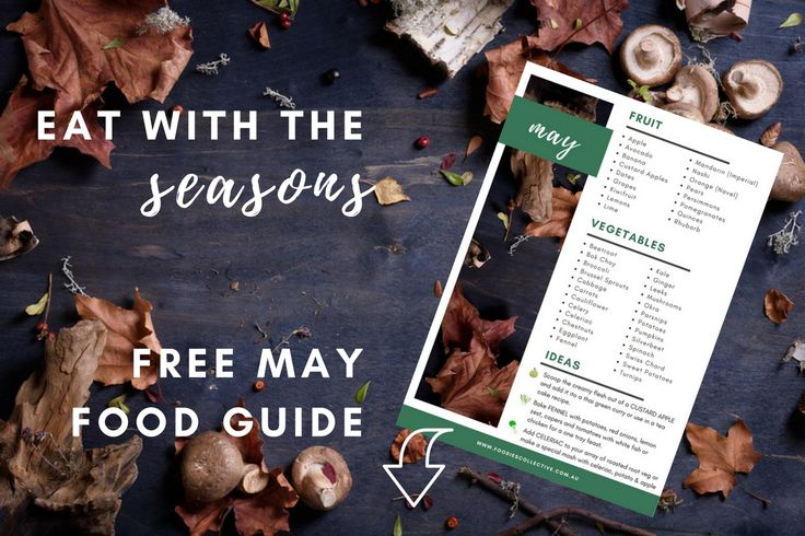 foodies collective - Download May seasonal food guide