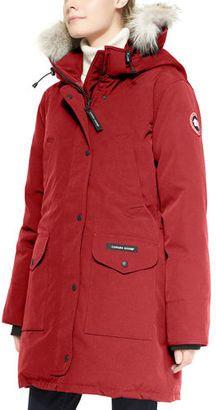 Shop Now - >  https://api.shopstyle.com/action/apiVisitRetailer?id=539856139&pid=uid6996-25233114-59 Canada Goose Trillium Fur-Hood Parka Jacket  ...