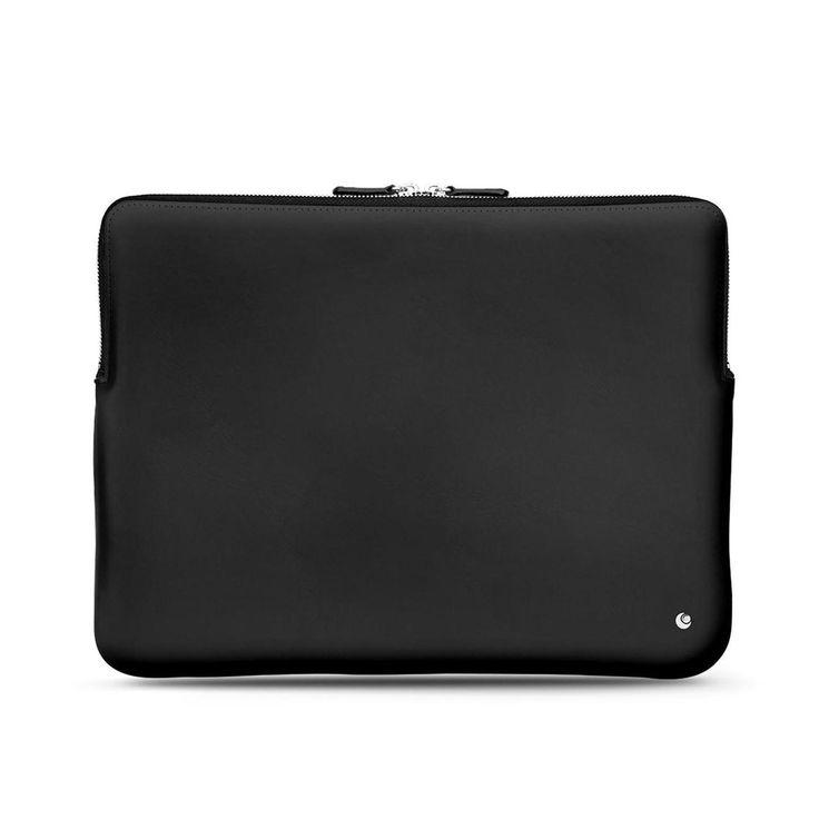 Noreve Leather Case For 12″ Macbook – Griffe 3 – Griffe 3 – Perpétuelle – Noir ( Nappa – Black )