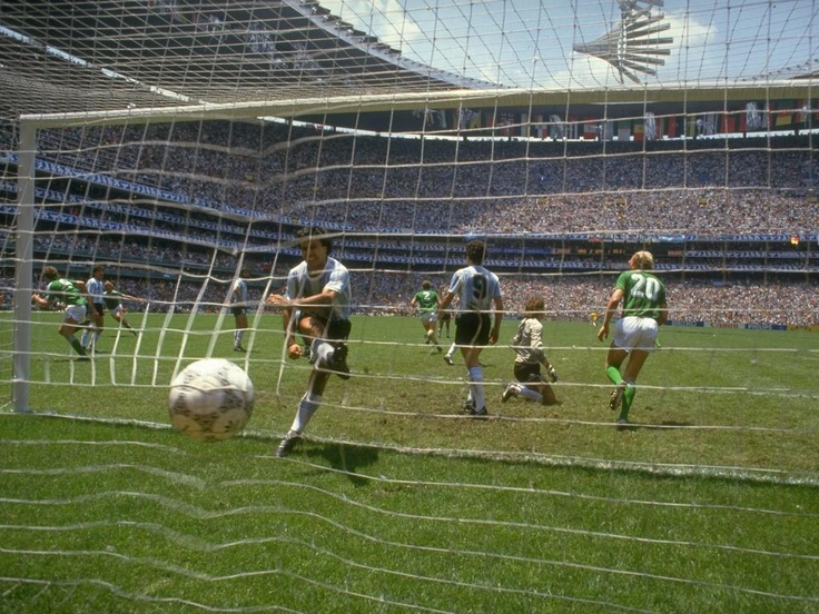 Julio Olarticoechea's reaction to Rudi Voeller's equaliser in the '86 World Cup ...