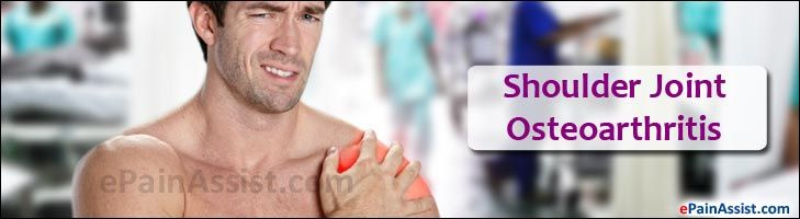 Shoulder Joint Osteoarthritis