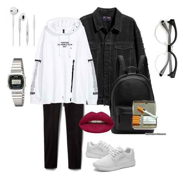 """""""Untitled #168"""" by ezerys on Polyvore featuring PB 0110, Casio and Huda Beauty"""