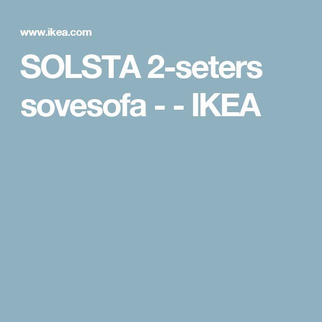 SOLSTA 2-seters sovesofa -    - IKEA