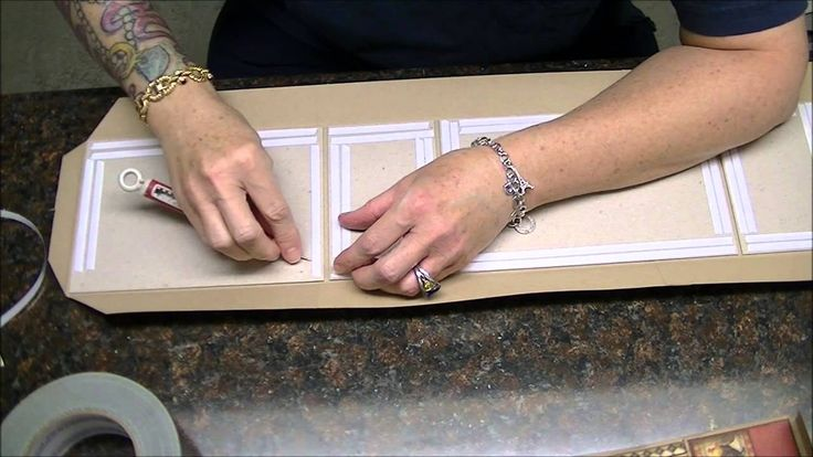 Mini Album Construction Tutorial of G45 French Country, Part 1 of 2