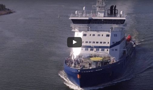 (Two Videos) The world's first LNG-powered icebreaker, Polaris, was delivered by Arctech Helsinki to the Finnish Government in September. The ship is designed to serve for at least 50 years in icebreaking, oil recovery and sea rescue operations in the Baltic Sea, using both liquefied natural gas (LNG) and low sulphur diesel oil as fuel. http://gcaptain.com/watch-tour-worlds-first-lng-powered-icebreaker/