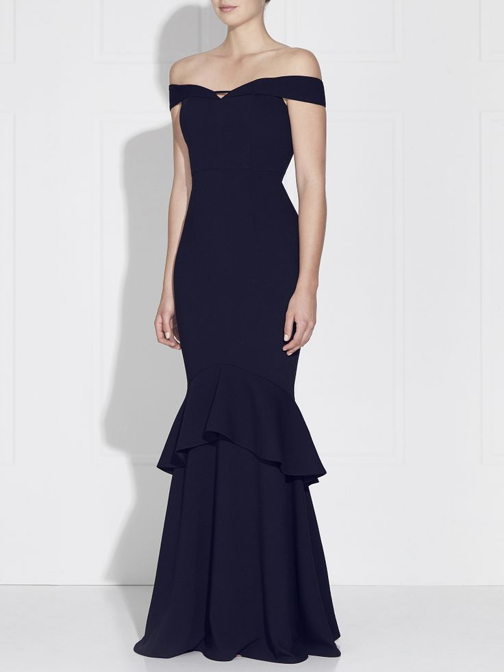 Love Honor - Rosetta Gown French Navy