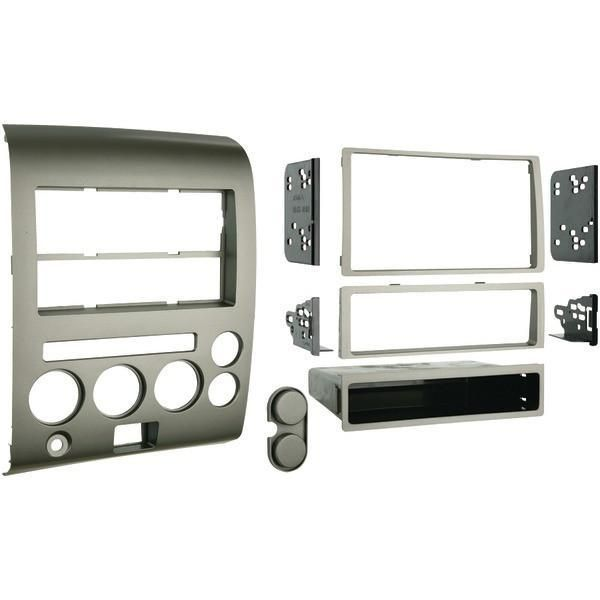 Metra 99-7606 2006–2007 Nissan Titan & Armada Single- or Double-DIN Installation Kit with Dual Zone Climate Display