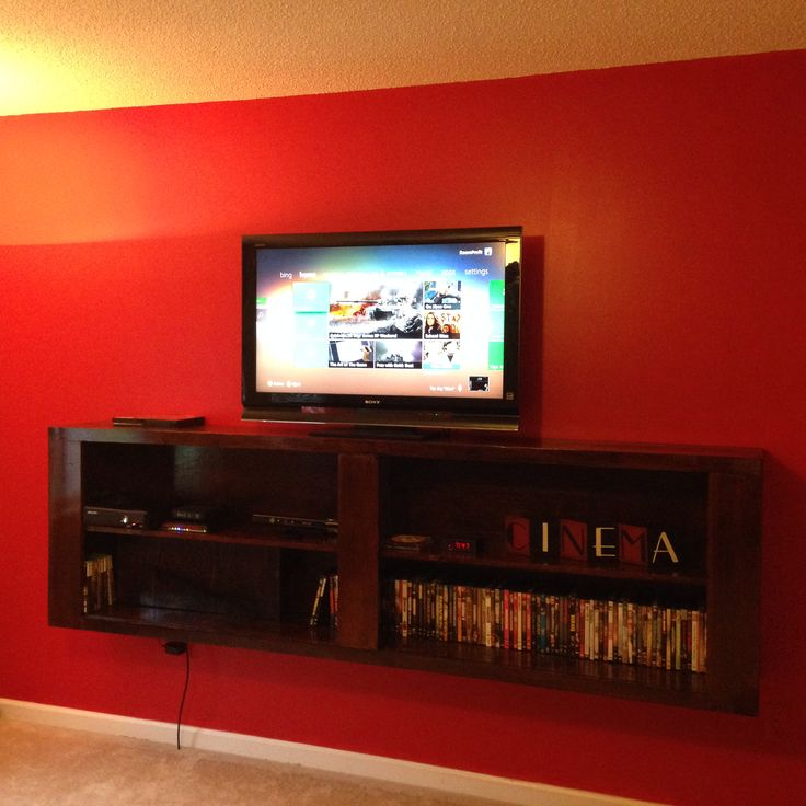 Floating tv stand | Floating tv stand | Pinterest ...