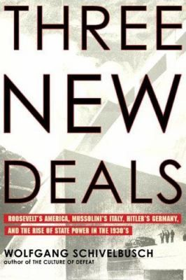 """Today Franklin Delano Roosevelt's New Deal is regarded as the democratic ideal, the positive American response to an economic crisis that propelled Germany and Italy toward Fascism. Yet in the 1930s, shocking as it may seem, these regimes were hardly considered antithetical. Now, Wolfgang Schivelbusch investigates the shared elements of these three """"new deals"""" to offer a striking explanation for the popularity of Europe's totalitarian systems."""