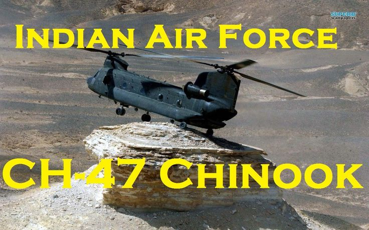 INDIAN AIR FORCE Boeing CH-47 Chinook