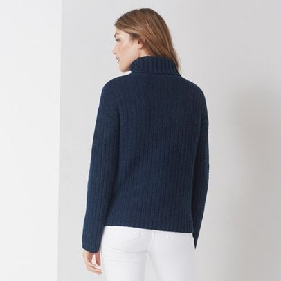 Chunky Wide Sleeve Stitch Jumper
