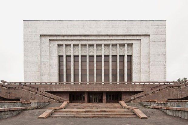 Museu Lenin (Museu de História, hoje), 1984, Bishkek, Quirguistão