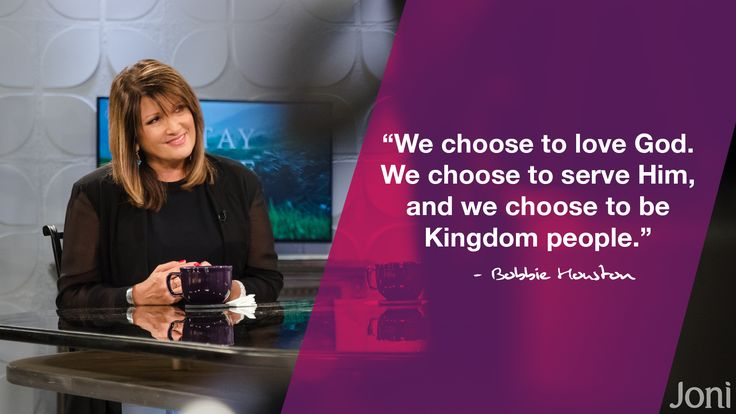 """We choose to love God. We choose to serve Him, and we choose to be Kingdom people."" -Bobbie Houston [Click Image to Watch Full Episode at Daystar.com]"