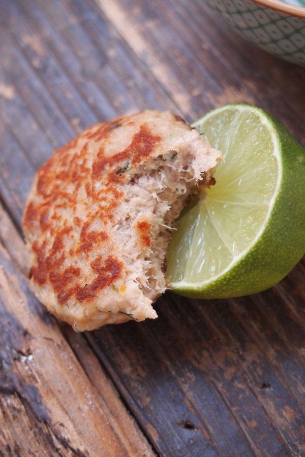 Croquette de thon citron et aneth