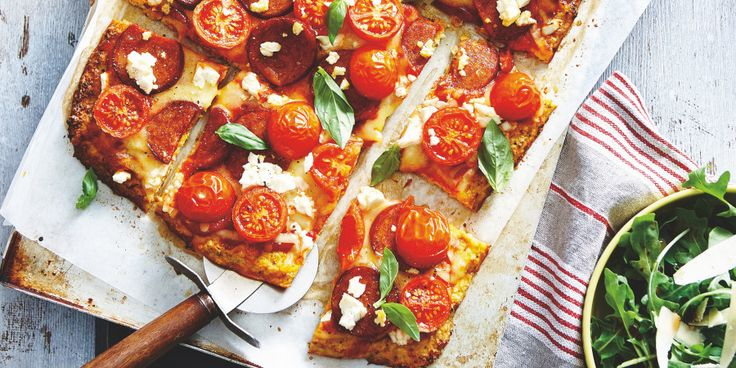 I Quit Sugar: Cauliflower Crust Pizza by Sally Obermeder