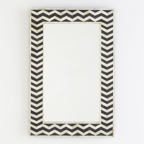 Patterned frame made from bone & horn, bring texture to any room