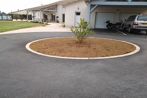 31 best Circle Drives,etc images on Pinterest Driveway ideas - allee de garage en cailloux