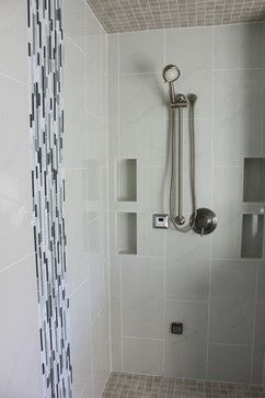 15 best images about bathroom remodel on pinterest for Waterfall tile design