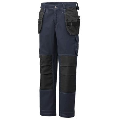 The Helly Hansen West Ham Construction Pant are contemporary, two-tone work trousers which maintain the high standard of durability the brand is known for. They feature two hand pockets plus a pair of double-bottomed hanging pockets. Plus both legs come with extra strong hammer loops. Available in 4 colours to match the West Ham jacket.
