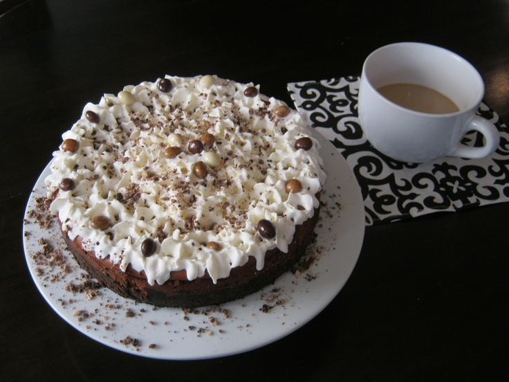 Chocolate Espresso Cheesecake | Home Cooking Made Easy | Pinterest