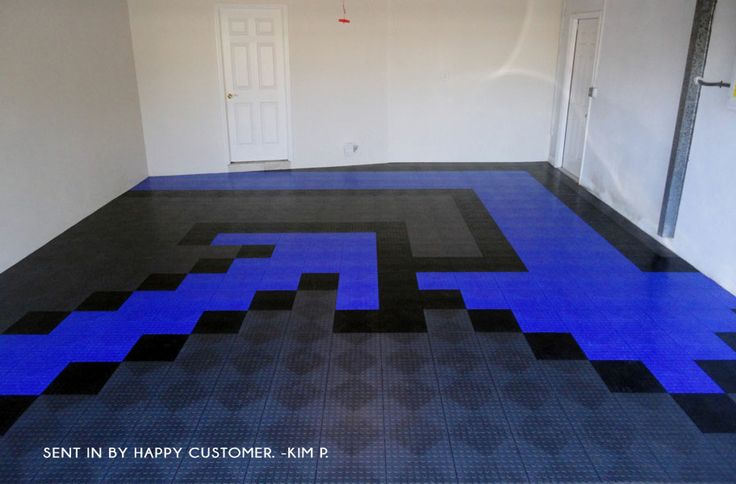 64 best cool garages images on pinterest garage flooring garages and garage ideas - Unique floor covering ideas ...