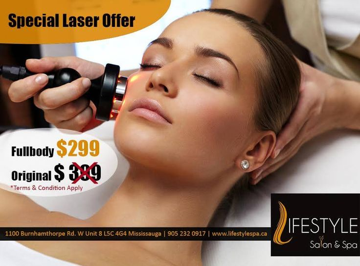 Stop With The Razor & Start With The Laser!  Offering Full Body Laser In $299 Only.  For Appointment & More Queries :  Call: 905-232-0917 #LifeStyle #Salon #Spa #GetRidOfUnwantedHair