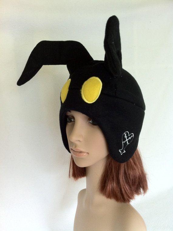 Kingdom Hearts Heartless Fleece Hat. $25.00, via Etsy.