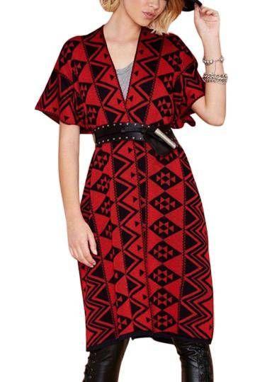 Warm and fuzzy kimono cape cardigan ==