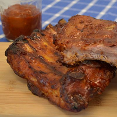 Best Ever Baby Back Ribs with BBQ Sauce