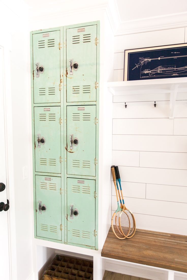 Mudroom lockers as seen on hgtvus pilot episode of urafterhouse