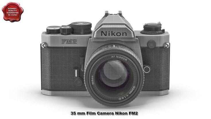 35 mm Film Camera Nikon FM2