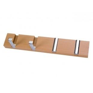 Appendiabiti - Sharp - Metaldecor       Semplice, efficace e moderno: appendiabiti modello Sharp, dotato di #ganci retrattili che scompaiono quando non sono utilizzati. #Design di Metaldecor