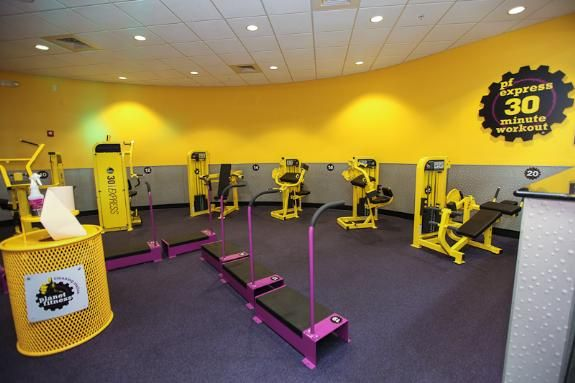the planet fitness express 30 minute workout this set up is a great introduction for those. Black Bedroom Furniture Sets. Home Design Ideas