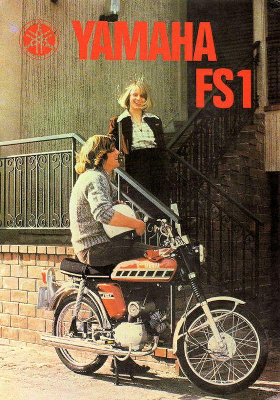 1976 77 YAMAHA FS1 E BAJA BROWN SPEEDBLOCK 394   BROCHURE