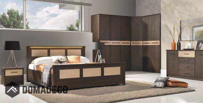 Cremona 4 - oak sonoma bedroom set in 2020   Oak bedroom ...