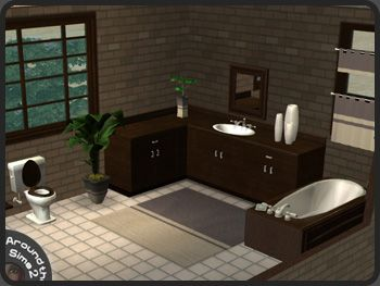 Around The Sims 2 | Objects | Bathroom | Maxis Wenge