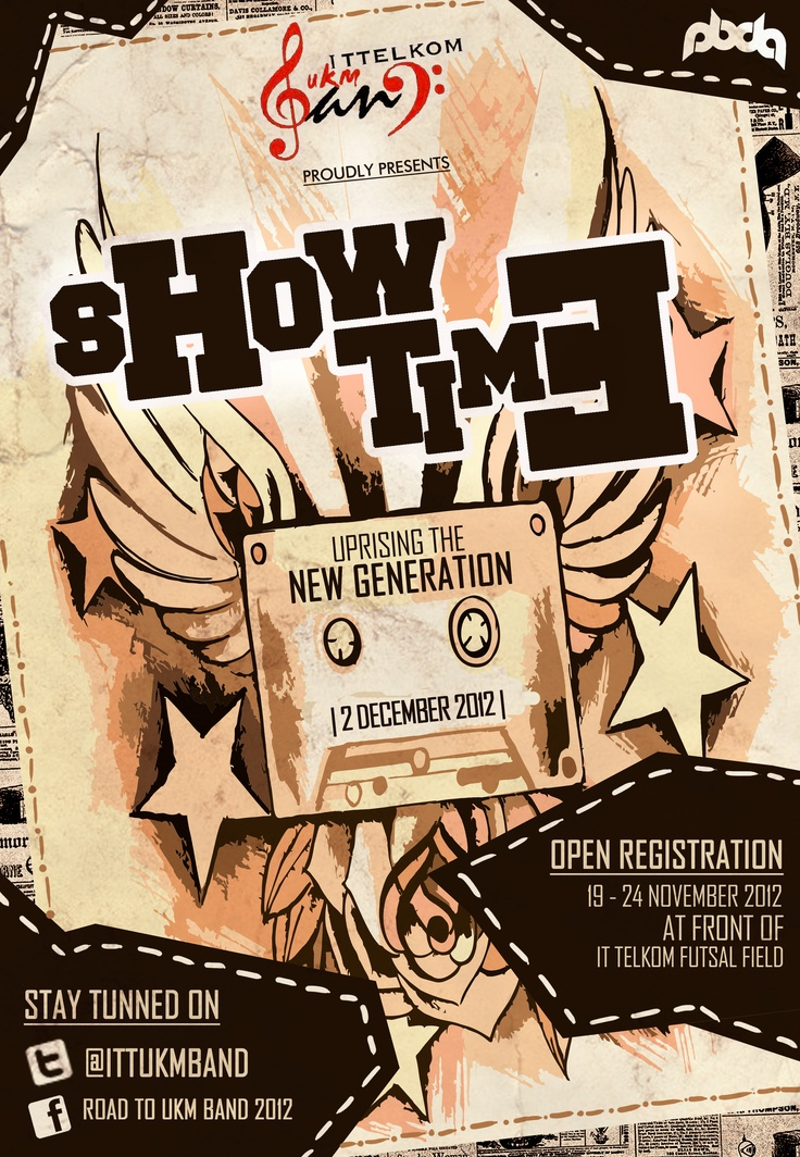UKM BAND SHOWTIME Open Registration!