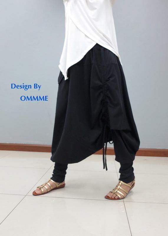 833f69501c NEW Harem pants, Drop crotch pants 055 in 2019 | Wear it Well ...