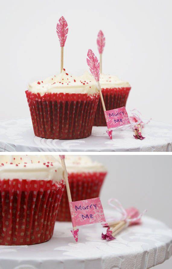 Cupcakes para regalar el dia de san valentin