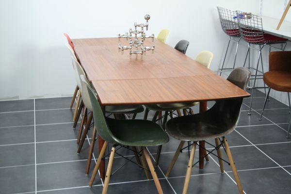 Extendable Scandinavian Teak Table By Johannes Andersen For Samcom 1960s For Sale At Pamono Teak Table Danish Furniture Design Teak