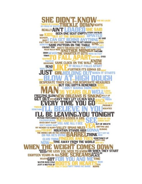 The Tragically Hip: 'Up to Here' Lyric Art