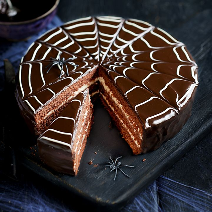 Our ultimate Halloween cake is a delicious chocolatey red velvet cake, sure to wow friends and family. Read the recipe on the Waitrose website.
