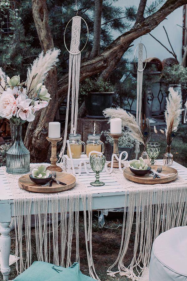 Boho Style Bohemian Schick Boho Hochzeit Wedding Boho