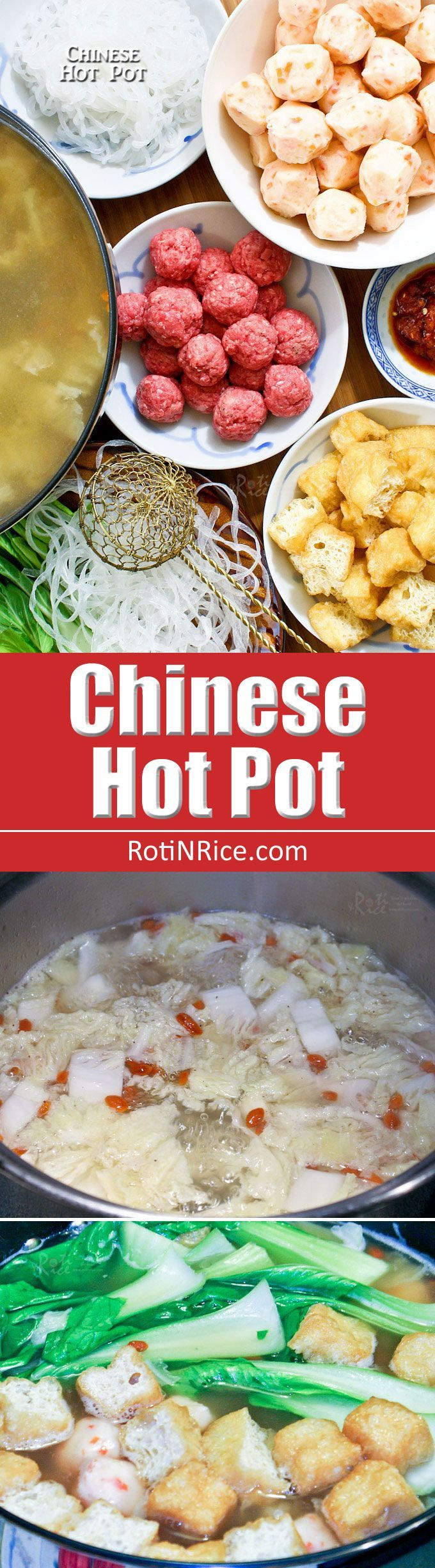 The Chinese Hot Pot meal is perfect for social gatherings. Choice of ingredients…