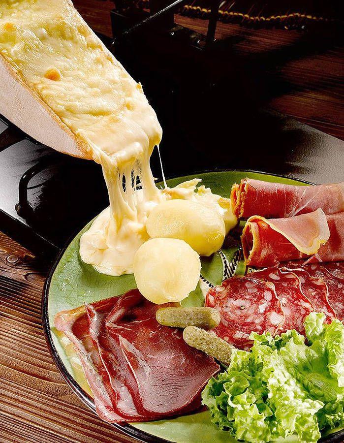 Véritable raclette - 20 recettes de fromage fondu - Elle à Table