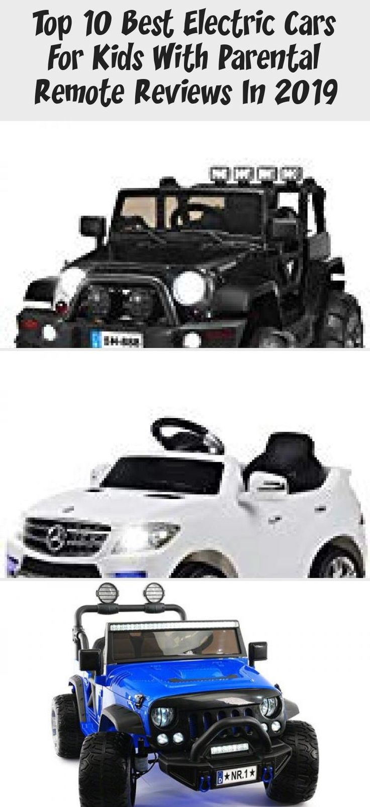 Top 10 Best Electric Cars For Kids With Parental Remote